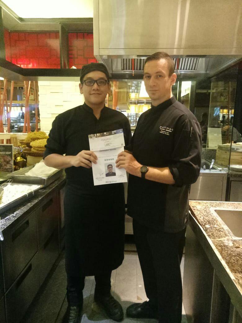 Mahasiswa TRISTAR BSD: The Best Trainee of Hotel Pullman Thamrin
